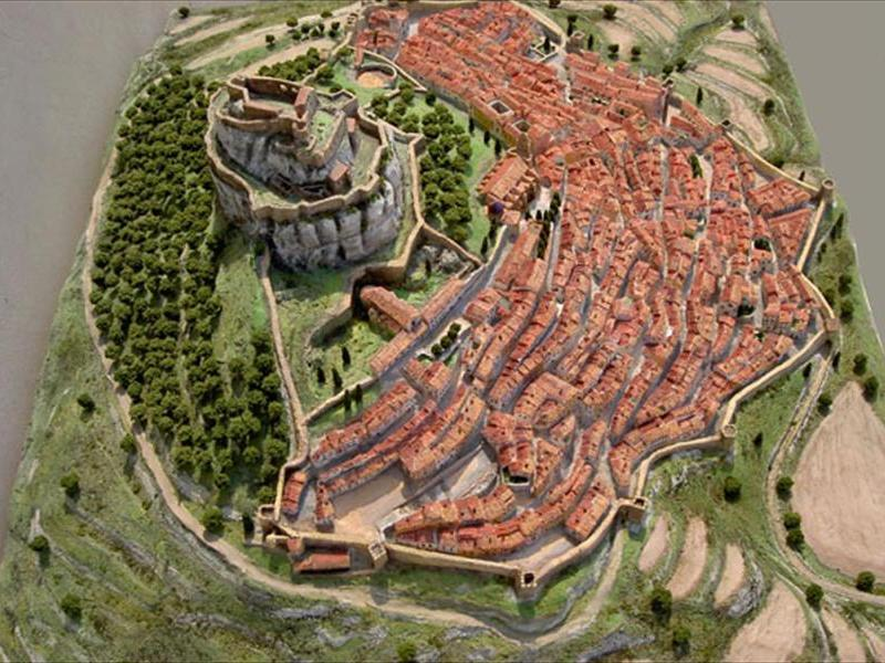 maquetas ciudades historicas restauración maquetas
